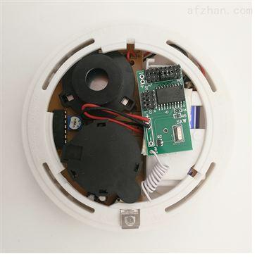 Smart electronic board for wired smoke sensor