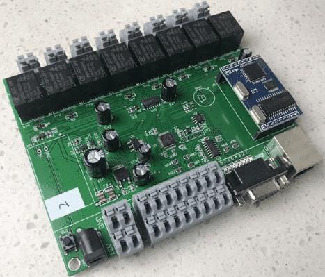 Smart home control board