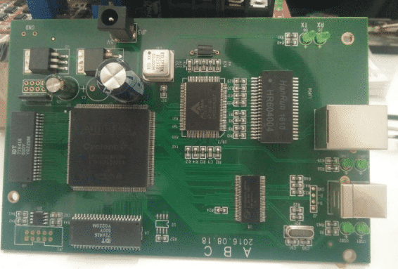 Prototype pcb assembly for X-ray security inspection machine