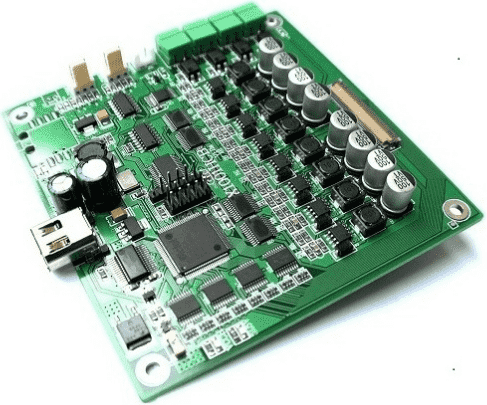 Prototype pcb assembly for computer intermediate frequency thera