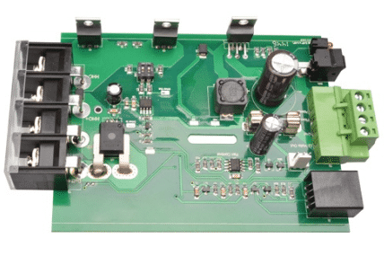 Prototype pcb assembly for one-piece five elemental analyzer