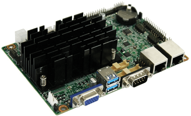 Three-lead ECG machine PCB prototype