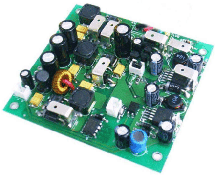 Laser therapy device PCB assembly