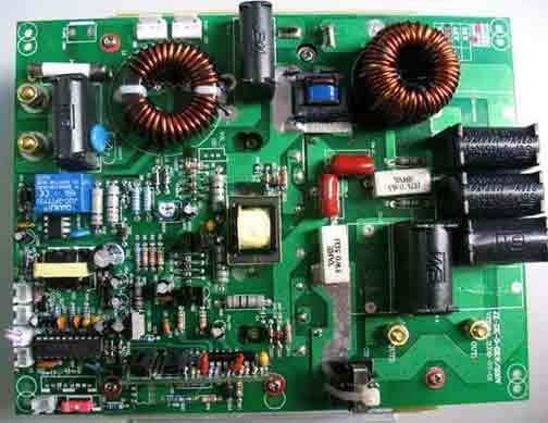 Digital motor soft starter pcb fabrication and assembly