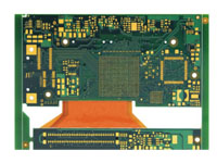 Automotive rigid-flex PCB