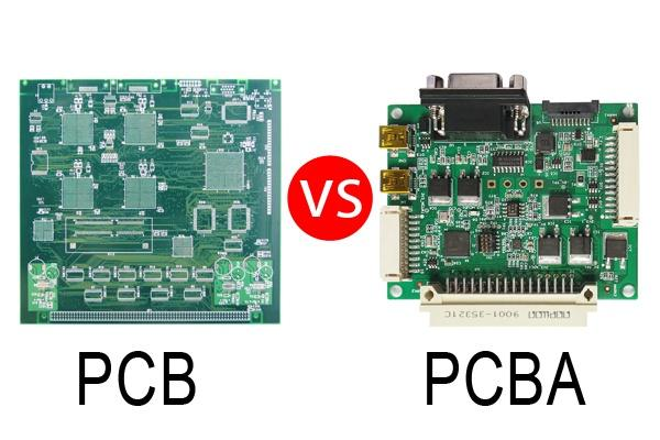 What is difference between PCB and PCBA?