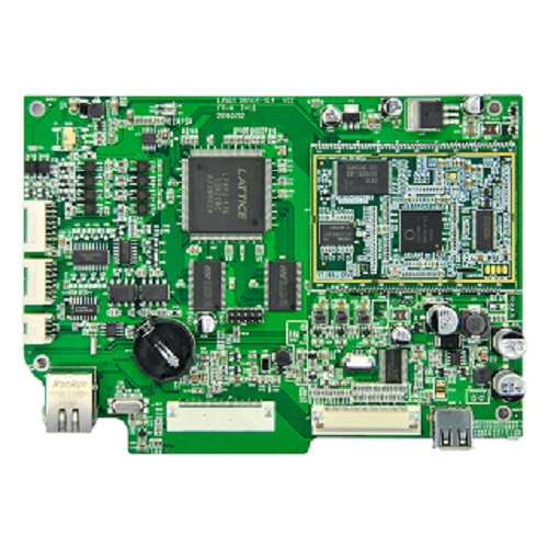 SMT circuit board assembly for medical electronics