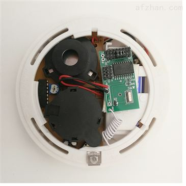 Smart electronic board for wired smoke sensor