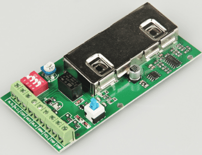 Smart electronic board for wired human body infrared sensor