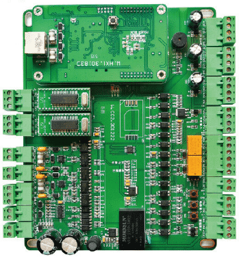 Smart electronic board of electric gate