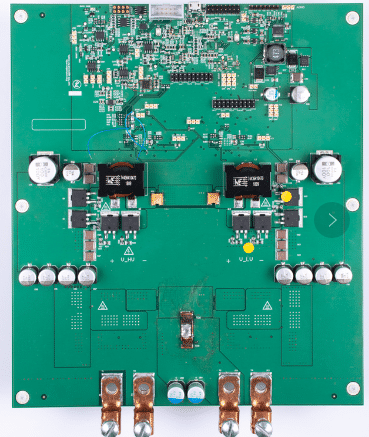 Prototype pcb for automatic blood rheometer