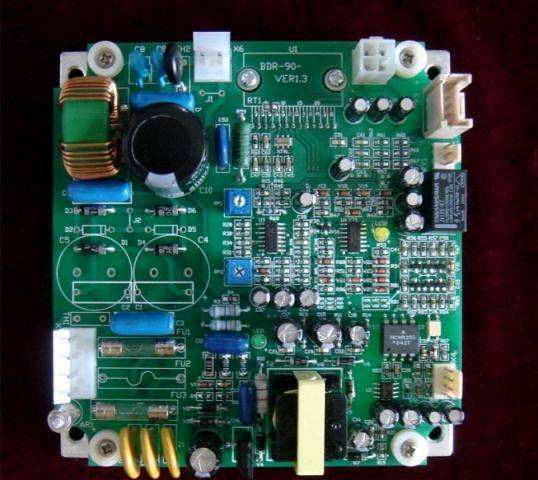 Prototype PCB for ozone therapy