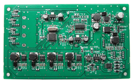 Thermal resistance alarm pcb assembly