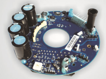Prototype pcb assembly for brushless self-control motor liquid r