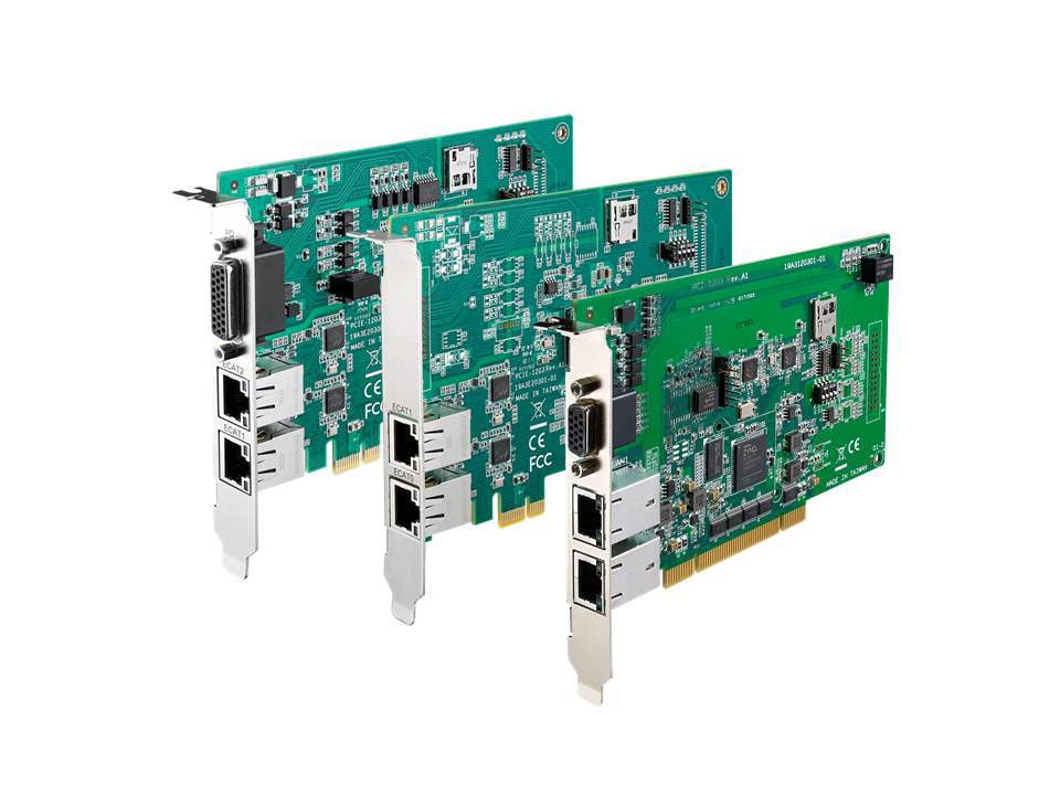 SMT circuit board assembly for industrial vision control systems