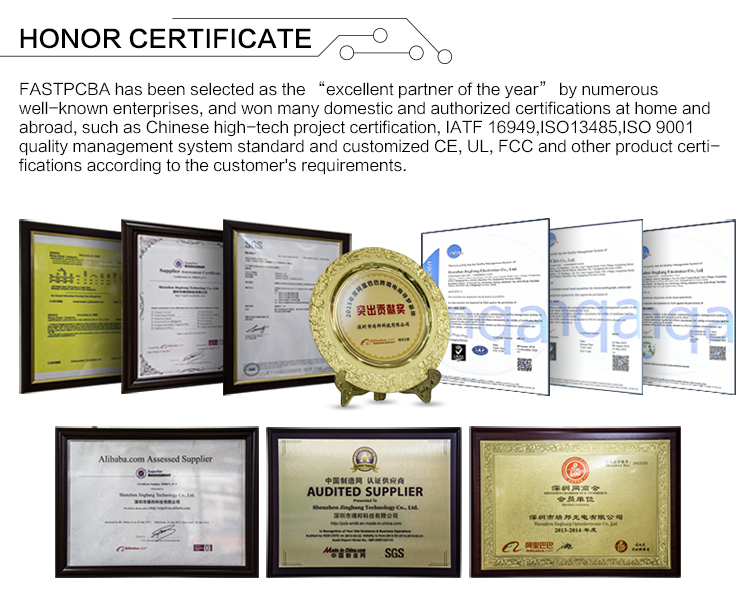 ISO & IATF certificate pcb factory