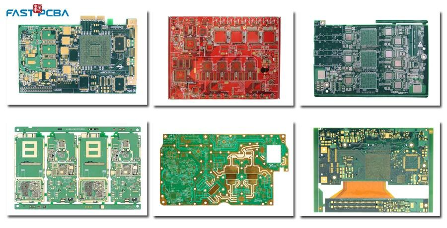 High-frequency PCBs